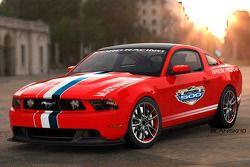 De nieuwe Ford Mustang GT, pace car Daytona 500
