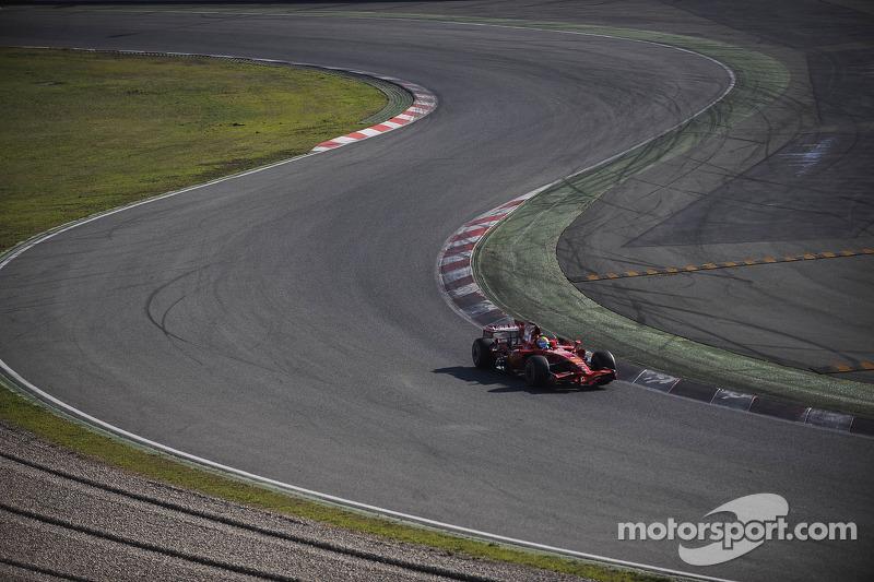Felipe Massa test de Ferrari F2008