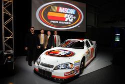 NASCAR Steve Williams, Bob Duval, Richard Buck en George Silbermann