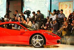 Conférence de presse Ferrari