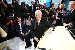 Martin Winterkorn, directeur de Volkswagen, lors de la conférence de presse