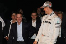 Ralf Schumacher and Michael Schumacher