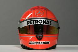 Le casque de Michael Schumacher