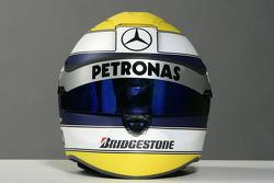 Helmet of Nico Rosberg