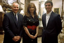 Peter Windsor, Cristina Fernandez de Kirchner and Jose Maria Lopez
