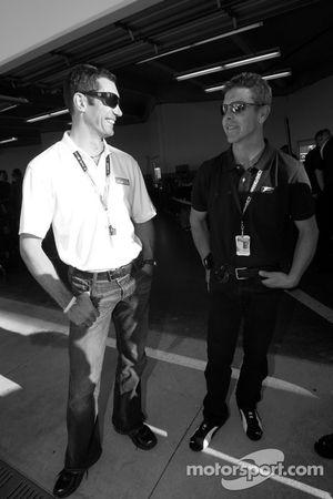 Max Papis et Scott Pruett