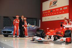 Felipe Massa, Stefano Domenicali, Fernando Alonso