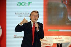 Luca di Montezemolo on stage
