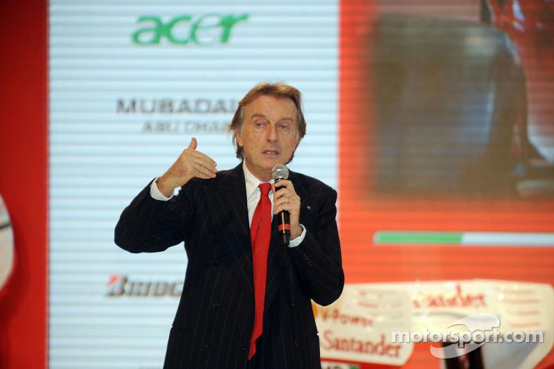 Luca di Montezemolo sur scène