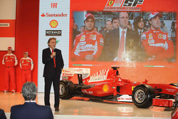 Luca di Montezemolo on stage