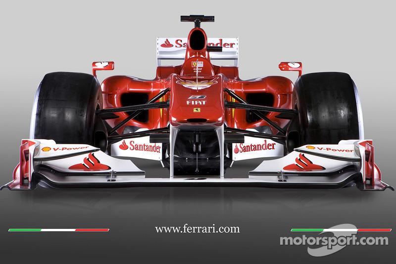 El Ferrari F10 de 2010