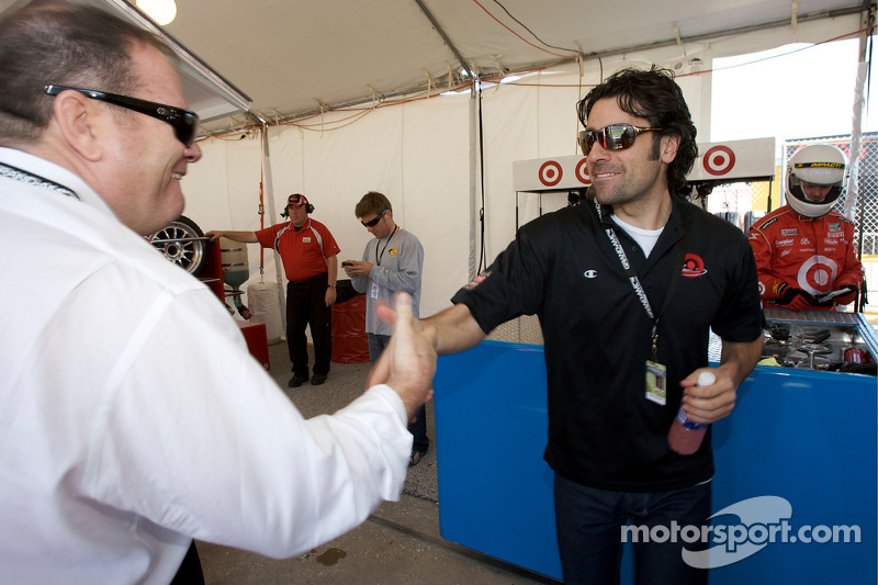 Chip Ganassi en Dario Franchitti