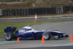 Nico Hulkenberg Williams FW32, Williams FW32 Shakedown, Silverstone, England, 28 January 2010