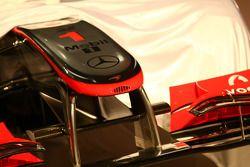 The McLaren MP4-25 under cover