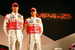 Jenson Button, McLaren Mercedes and Lewis Hamilton, McLaren Mercedes