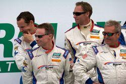 David Donohue, Hurley Haywood, Butch Leitzinger en Darren Law
