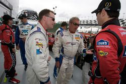 David Donohue, Hurley Haywood en Jimmie Johnson