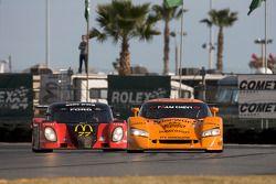 #2 Beyer Racing Chevrolet Crawford: Jared Beyer, Dane Cameron, Romeo Kapudija, Cort Wagner, #77 Dora