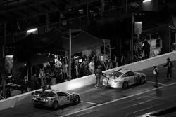 #20 Matt Connolly Motorsports Porsche GT3: Christophe Lapierre, Jos Menten, Markus Palttala, Oskar Slingerlet et #19 Matt Connolly Motorsports Corvette: Sean Breslin, Sean Paul Breslin, Ricardo Romagnoli, Diego Romanini