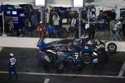 Pitstop #67 TRG/ Flying Lizard Motorsports Porsche GT3: Jorg Bergmeister, Patrick Long, Seth Neiman,