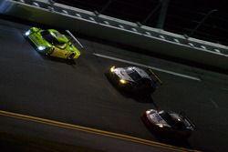 #90 Spirit of Daytona Racing Porsche Coyote: Antonio Garcia, Paul Menard, Buddy Rice, #40 Dempsey Ra