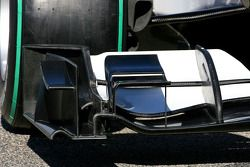 El nuevo BMW Sauber C29, detalle del alerón frontal