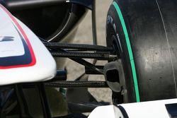 yeni BMW Sauber C29, suspension detay