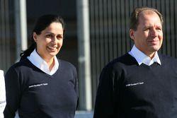 Monisha Kaltenborn, director administrativo del Equipo BMW sauber F1