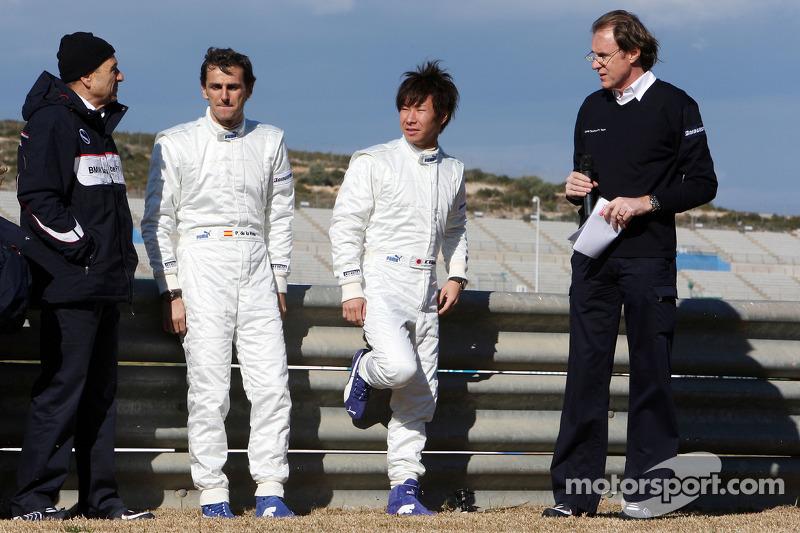 Peter Sauber, Equipo BMW Sauber F1, Director de Equipo, Pedro de la Rosa, Equipo BMW Sauber F1, Kamu