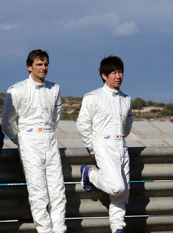 Pedro de la Rosa, Equipo BMW Sauber F1, Kamui Kobayashi, Equipo BMW Sauber F1