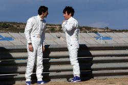 Pedro de la Rosa, Equipo BMW Sauber F1, Kamui Kobayashi, Equipo BMW Sauber F1- Lanzamiento del Equip