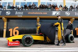 Vitaly Petrov, Renault F1 Team, Robert Kubica, Renault F1 Team, Eric Boullier, Takım Patronu, Renaul