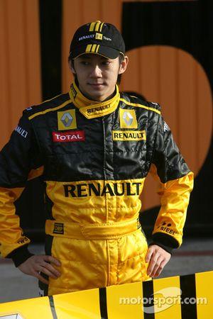 Ho-Pin Tung, Renault-Testfahrer