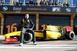 Gerard Lopez mit dem Renault R30
