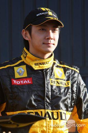 Ho-Pin Tung, piloto de pruebas, Equipo Renault F1