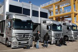 Mercedes GP tırıs
