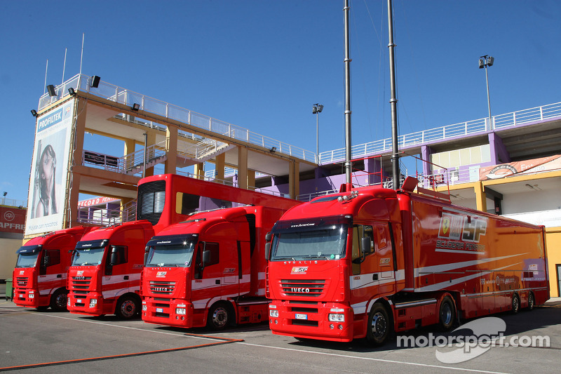 Scuderia Ferrari tırıs