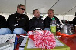 Darren Law, David Donohue en Hurley Haywood
