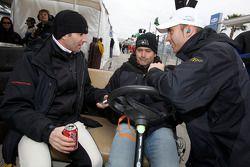 Romain Dumas, Bobby Labonte en Timo Bernhard