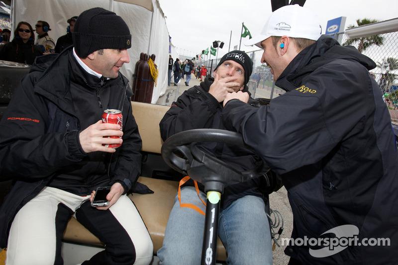 Romain Dumas, Bobby Labonte et Timo Bernhard