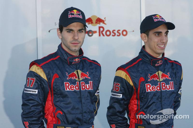 Alguersuari y Buemi compitieron juntos en Toro Rosso dos temporadas y media, entre 2009 y 2011.