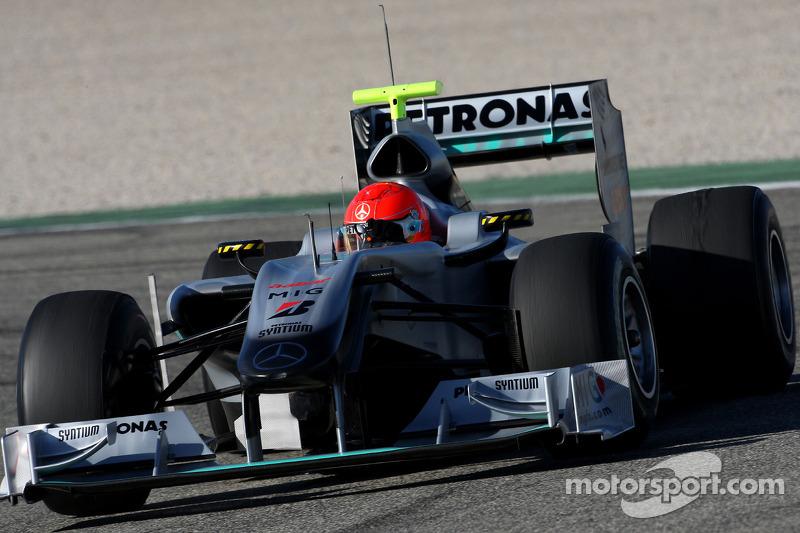 Michael Schumacher, Mercedes GP, W01