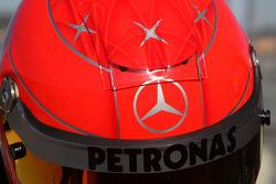 The, kask, Michael Schumacher, Mercedes GP
