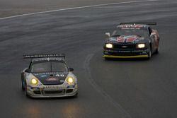 #48 Miller Barrett Racing Porsche GT3: Luke Hines, Peter Ludwig, Bryce Miller, Kevin Roush, #97 Stev