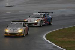 #41 Dempsey Racing/Team Seattle Mazda RX-8: James Gue, Leh Keen, Don Kitch Jr., #40 Dempsey Racing Mazda RX-8: Patrick Dempsey, Charles Espenlaub, Joe Foster