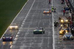 #66 TRG Porsche GT3: Ted Ballou, Kelly Collins, Patrick Flanagan, Wolf Henzler, Andy Lally leidtt de