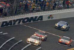 #69 SpeedSource Mazda RX-8: Emil Assentato, Anthony Lazzaro, Nick Longhi, Jeff Segal, #22 Bullet Rac