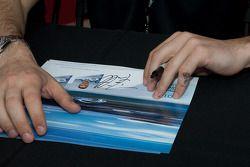 Une carte signée