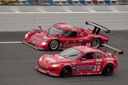 #30 Racers Edge Motorsports Mazda RX-8: Glenn Bocchino, Jade Buford, Todd Lamb, Jordan Taylor #99 GA