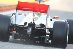 McLaren Mercedes, MP4-25, rear, detail